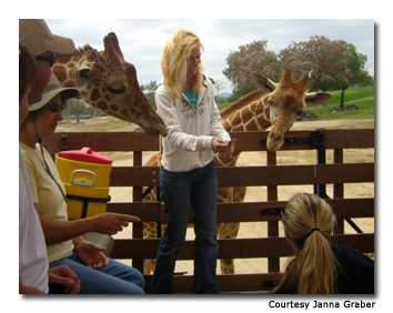 In the Wild Animal Park guests can get up close and personal with the animals.